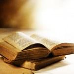 viejos libros closeup — Foto de Stock