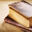 Old Books closeup — Stock Photo