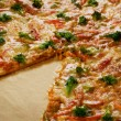 la pizza — Foto de Stock