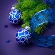Christmas and New Year Decoration — Stock Photo #10683389
