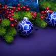 Christmas And New Year Decorations — Stock Photo #10683430