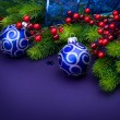Christmas And New Year Decorations — Stock Photo #10683435