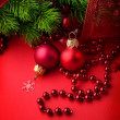 Stock Photo: Christmas and New Year decoration