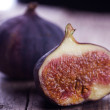 Ripe Fig Fruits - Stock Photo