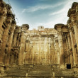 Old Roman Temple In Baalbek, Lebanon - Stock Photo