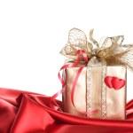 Valentine gåva — Stock fotografie