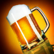 Beer closeup - Foto Stock