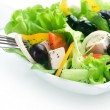 Stock Photo: Healthy Greek Salad