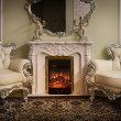 Luxury Victorian Styled Interior — ストック写真