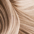 Blond Hair Texture — Stock Photo