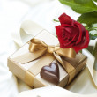 Stock Photo: St. Valentine's Gift