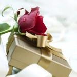 Valentine greeting card — Stock Photo