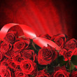 Red Roses For St.Valentine&amp;#039;s Day - Stockfoto