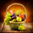 Stock Photo: Organic ripe fruits