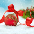 Christmas and New Year Decorations.Bauble — Stock Photo #10686784