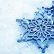 Winter Snow Background. Snowflakes — Foto de stock #10687074
