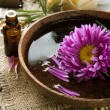 Stock Photo: Aromatherapy. Essence oil. Sptreatment