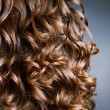 Foto Stock: Curly Hair. Hairdressing. Wave