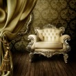 Stock Photo: Beautiful Old Styled Interior