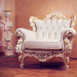 Luxury Interior . Carved Furniture — Stock Photo