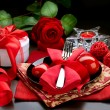 Valentine Romantic Dinner — Stock Photo #10687609
