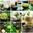 Beautiful Spa Collage — Stock Photo #10688542