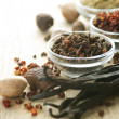 Royalty-Free Stock Photo: Spice Border