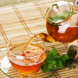 Healthy Tea with Mint — Foto Stock