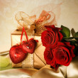 St.Valentine&amp;#039;s Day Gift - Stockfoto