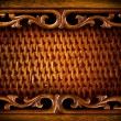 Rattan Furniture Detail.Abstract Background - Stock Photo