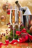 New Year Card Design — Stock Photo