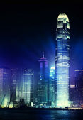 Hong Kong night view — Stock Photo
