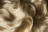 Healthy Blond Hair — Stock Photo