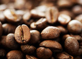 Coffee Close-up. Selective Focus — Stock Photo