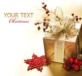 χριστουγεννιάτικο δώρο — Φωτογραφία Αρχείου