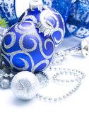 Decoraciones de navidad y año nuevo — Foto de Stock
