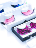 False Eyelashes — 图库照片