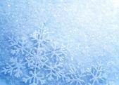Snowflakes. Winter Snow Background. Christmas — Stock Photo
