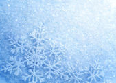 Sněhové vločky. zimní sněhová pozadí. vánoční — Stock fotografie