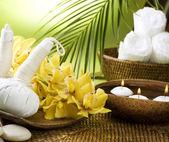 Spa Settings. Thai Massage — Stock Photo