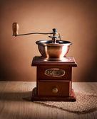 Mlýnek na kávu. vintage stylu — Stock fotografie