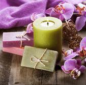Spa Handmade natural Soap — Stock Photo