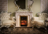 Luxury Victorian Styled Interior — Stock Photo
