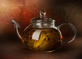 Tea in Teapot — Stock Photo
