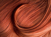 Zrzavé vlasy textury — Stock fotografie