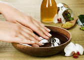 Hands Spa. Manicure concept — 图库照片