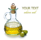 Extra Virgin Olive Oil — Stock Photo