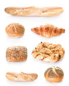 Bakery Bread Set — Stock Photo