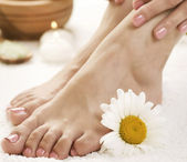 Feet Spa. Pedicure — Stock Photo
