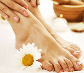 Voeten spa. Pedicure concept — Stockfoto